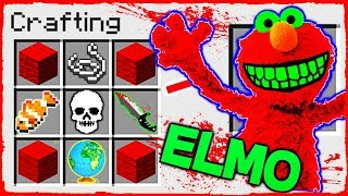 Minecraft - How to Summon ELMO in a CRAFTING TABLE