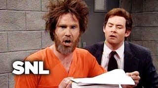 Ted Kaczynski Meets His Lawyers - SNL