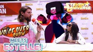 Estelle talks Garnet with The Voice Over Show! (MONTH OF STEVEN)