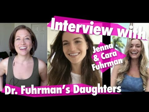 """Interview with Jenna and Cara Fuhrman FAV RECIPES PDF """"How Were You Raised """" Eat to Live"""