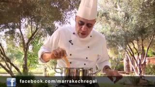 Soupe d'orge au thym -Cuisine marocaine- Par Moha - Marrakech Régal - Episode 08