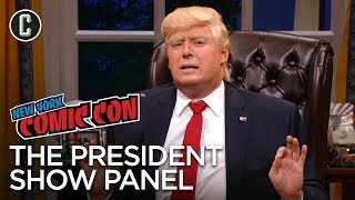 The President Show Panel - NYCC 2017