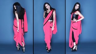 How To Wear A Dhoti Saree | Easy Method