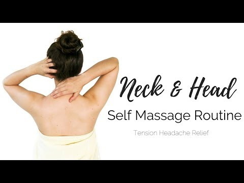 Xxx Mp4 Self Massage Routine Shoulder Neck Head Tension Headache Relief 3gp Sex