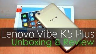 Lenovo Vibe K5 Plus Unboxing & Review [Hindi]