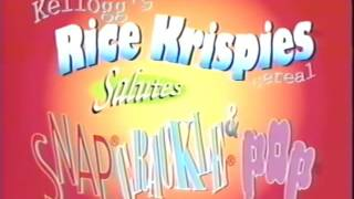 Kelloggs Rice Krispies Timmy The Tooth 1994