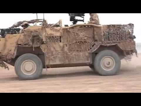 The British Jackal high mobility transporter vehicle