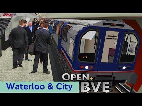 Playing Open.BVE #2 - Waterloo & City Line (Class 482): Waterloo to Bank [Return]