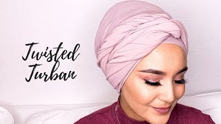 Twisted Turban Style I Burma turban modeli