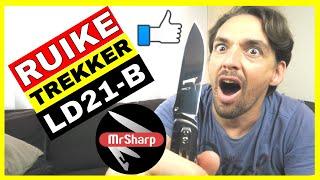 Ruike knife review | Ruike ld21 | Fenix flashlight