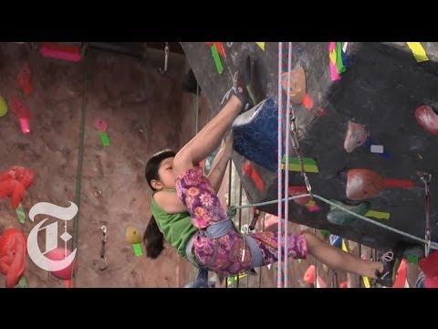Xxx Mp4 Ashima S Ascent Rocking The Climbing World The New York Times 3gp Sex