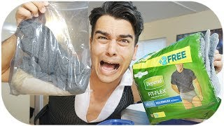SOMEONE SENT ME A DIAPER... PO BOX OPENING GONE WRONG! CRAZY UNBOXING