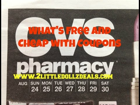 CVS Sales Circular Preview What's Free and Cheap with Coupons  8/24/14 to 8/30/14