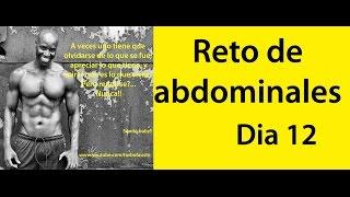 ABDOMINALES EN 30 DIAS ( RETO DIA 12)