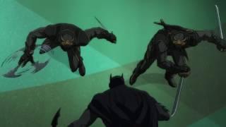 Batman vs Talons Fight Scene