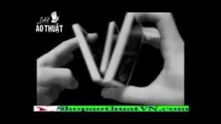 Dạy ảo thuật - Cách múa bài - Ảo thuật đơn giản, dễ làm