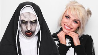 The Nun Halloween Transformation ft. Glam&Gore