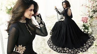 latest bollywood fashion outfits Designer collection celebrity Gown dresses Suits online for Girls
