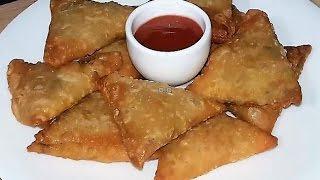 Chicken Samosa Homemade Bangla Recipe by Cooking Channel BD   🍷চিকেন সমুচা