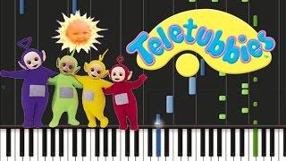 Teletubbies - Theme Song [Synthesia Tutorial]