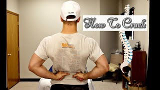 5 Tips To Crack Your Own Back!  ~DIY Tutorial~