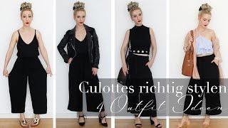 Culottes richtig stylen - 4 Outfit Ideen | Lookbook
