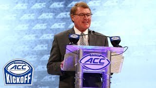Commissioner John Swofford: ACC Schedule Packed With Quality | 2018 ACC Kickoff