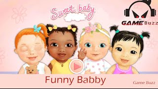 Funny baby cartoon, baby care cartoon game, just for kids Entertainment!!!