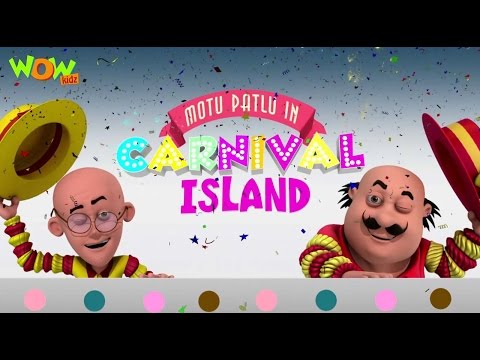 Motu Patlu In Carnival Island - Motu Patlu Movie - ENGLISH, SPANISH & FRENCH SUBTITLES!
