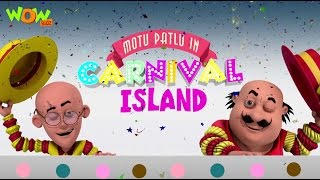 Motu Patlu In Carnival Island - Motu Patlu Movie - ENGLISH, SPANISH & FRENCH SUBTITLES!
