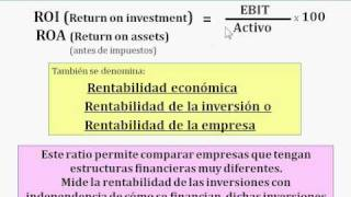 18 FNF  Ratios de rentabilidad ( Finanzas para no financieros)