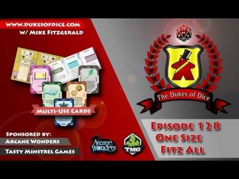 Dukes of Dice (AUDIO) - Ep. 128 - One Size Fitz All