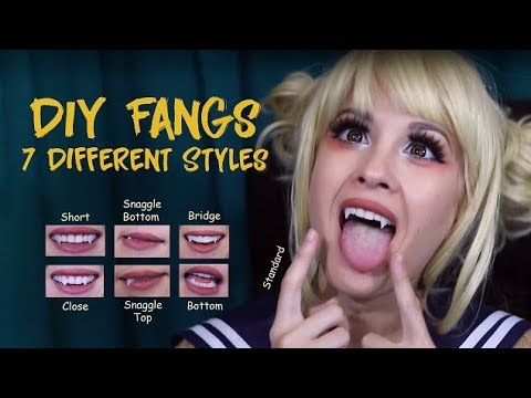 Xxx Mp4 How To CHEAP AND EASY FANGS 7 Different Styles As Toga 3gp Sex