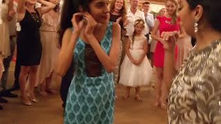 Indian Dance at Polish Wedding