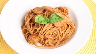 One Pot Single Step Spaghetti Recipe - Laura Vitale - Laura In The Kitchen Episode 936