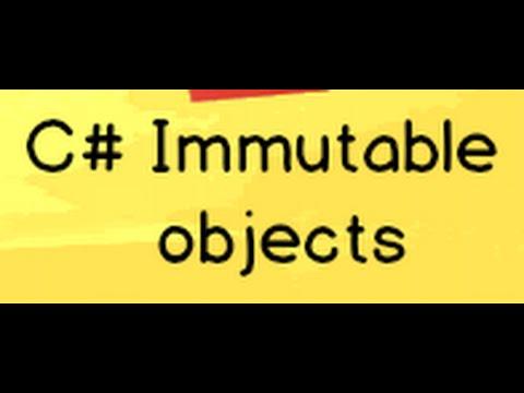 C# Immutable object design pattern