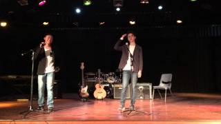 Geordie & Shaun Round 1 - Sing Off 2016