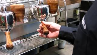 Work on Slayer Espresso Machine at % Arabica