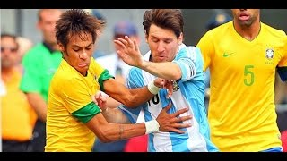 Messi & Neymar skills -messi and neymar vs ronaldo and bale 2014