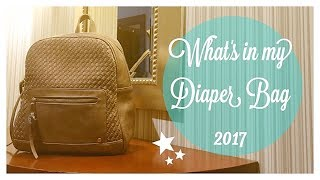 WHATS IN MY DIAPER BAG 2017 (COLLAB) // 6 MONTH OLD & 2 YEAR OLD