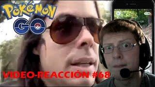 Video-Reacción #68 Dross juega Pokémon Go (Fan made) por Matias