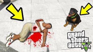 ЧТО БУДЕТ ДЕЛАТЬ ЧОП ЕСЛИ УБИТЬ ФРАНКЛИНА?! (GTA 5)