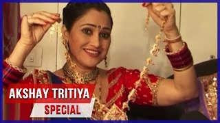 Disha Vakani AKA Dayaben Flaunts Her Jewelry Collection On The Occasion Of Akshay Tritya