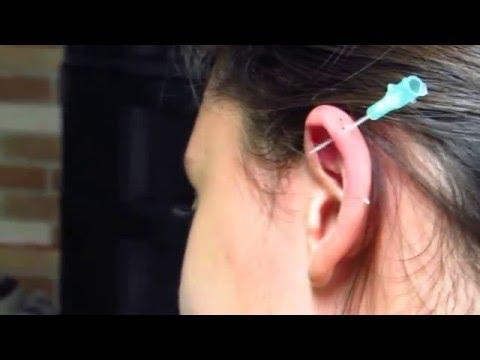 Furando a Cartilagem da Orelha