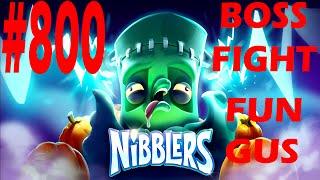 Rovio Nibblers-Boss Fight Fun Gus Level-800 Three Star Walkthrough