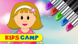 Learn Colors for Children With Wrong Makeup Lipstick Finger Family Nursery Rhyme by KidsCamp