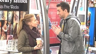 Picking up Girls (WORKS EVERY TIME) Social Experiment