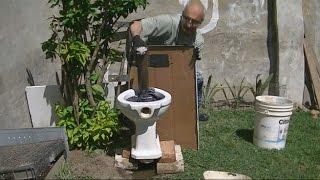Como Destapar un Inodoro Facilmente--- -How to unclog a toilet easily