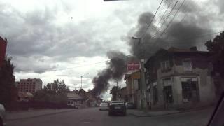 Пожар в теца 2 - Перник