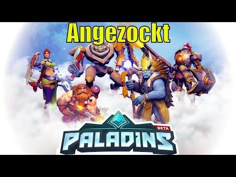Paladins Angezockt [German] [Gameplay] [Let´s Play] [Deutsch]
